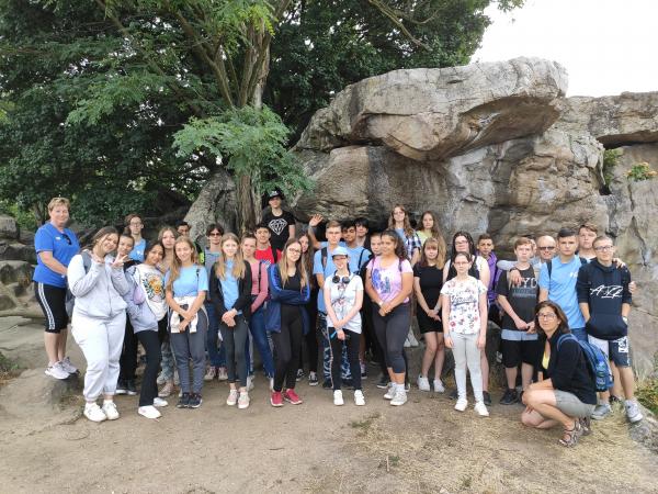 Szilágyis gólyák a Balatonnál