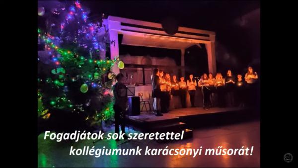 Online karácsonyi műsor 2020